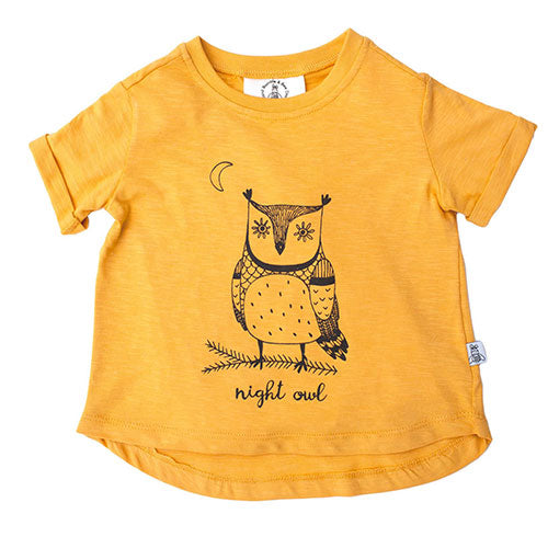 Bumble & Bee - Night Owl t-shirt (karrygul)