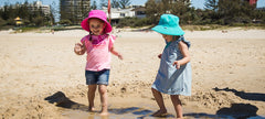 Little Georgie kids sun hat for little adventurers. The perfect hat for your toddler or baby