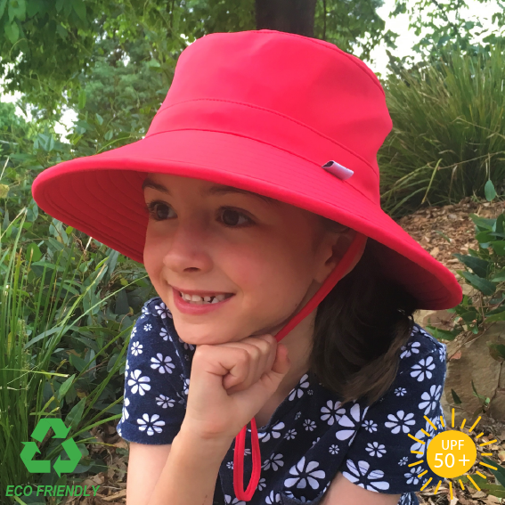 Eco Friendly Kids Bucket Hat - Watermelon