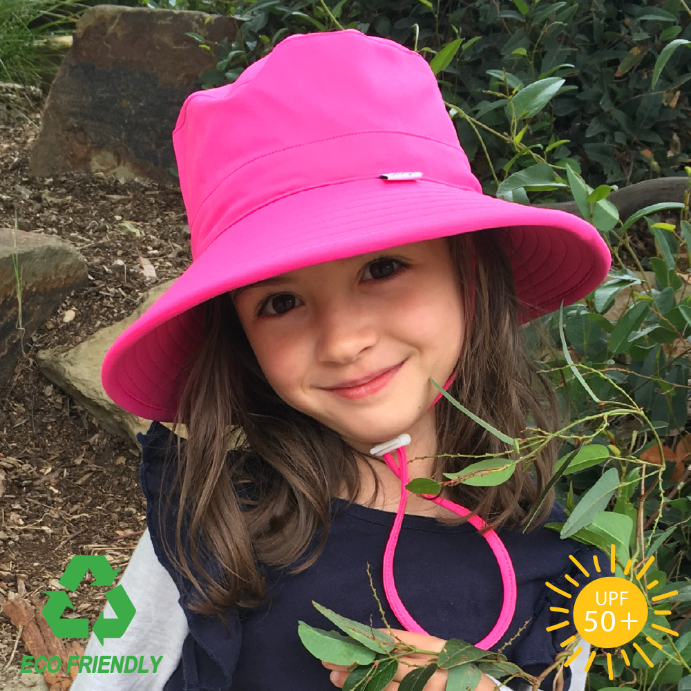 Bucket Hat - Eco Bucket Kids Sun Hat - Watermelon
