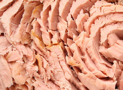 Tuna is an excellent source of lean protein and a great post workout food.