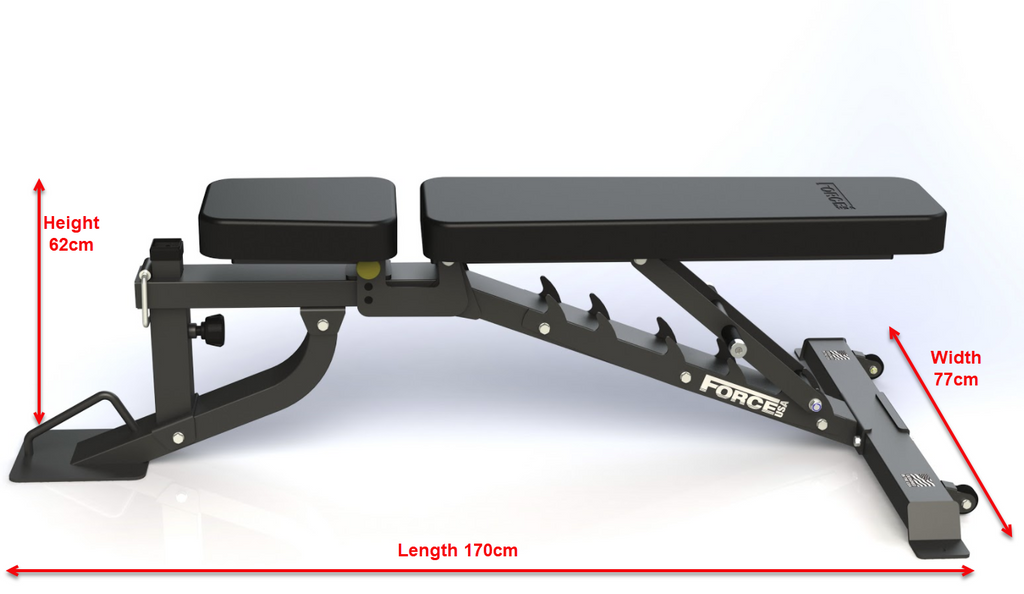Force Usa Mybench Fid Bench With Arm And Leg Curl