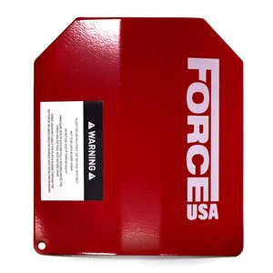 Force USA 2x 2kg Curved Weight Vest Plate (Sold as Pair)