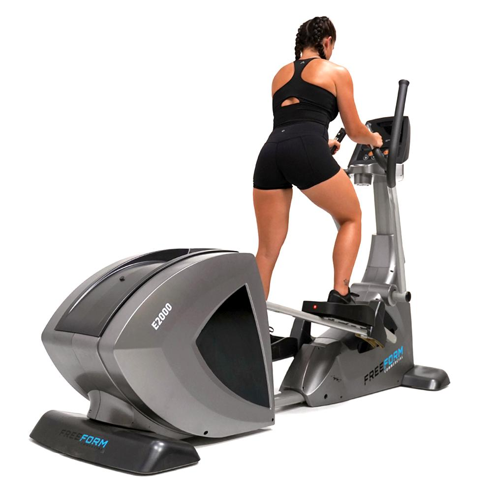 Freeform E2000 Commercial Self Generating Elliptical Trainer