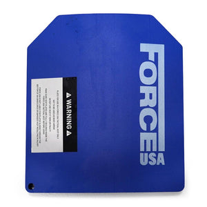 Force USA 2x 10kg Curved Weight Vest Plate ( Sold as Pair)