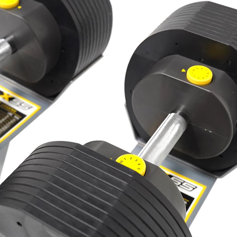 MX Select MX55 Adjustable Dumbbells Set