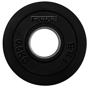 Force USA Rubber Coated 51mm Olympic Weight Plates 0.5kg