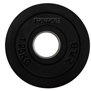 Force USA Rubber Coated 51mm Olympic Weight Plates 1.25kg