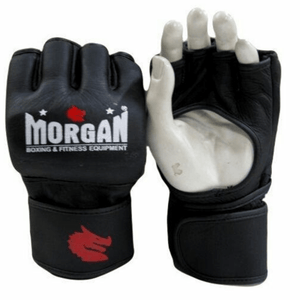 Morgan V2 Elite Leather MMA Gloves