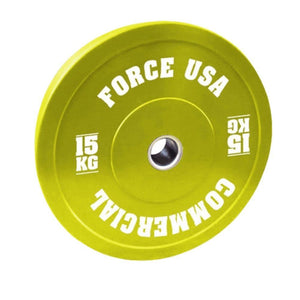 Force USA Pro Grade Coloured Bumper Plates 15kg