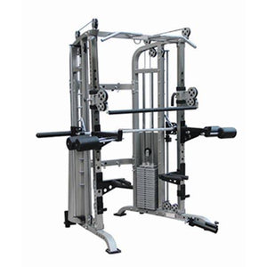 Brawn Strength Beast V6 Functional Trainer, Power Rack, Smith Machine Combo