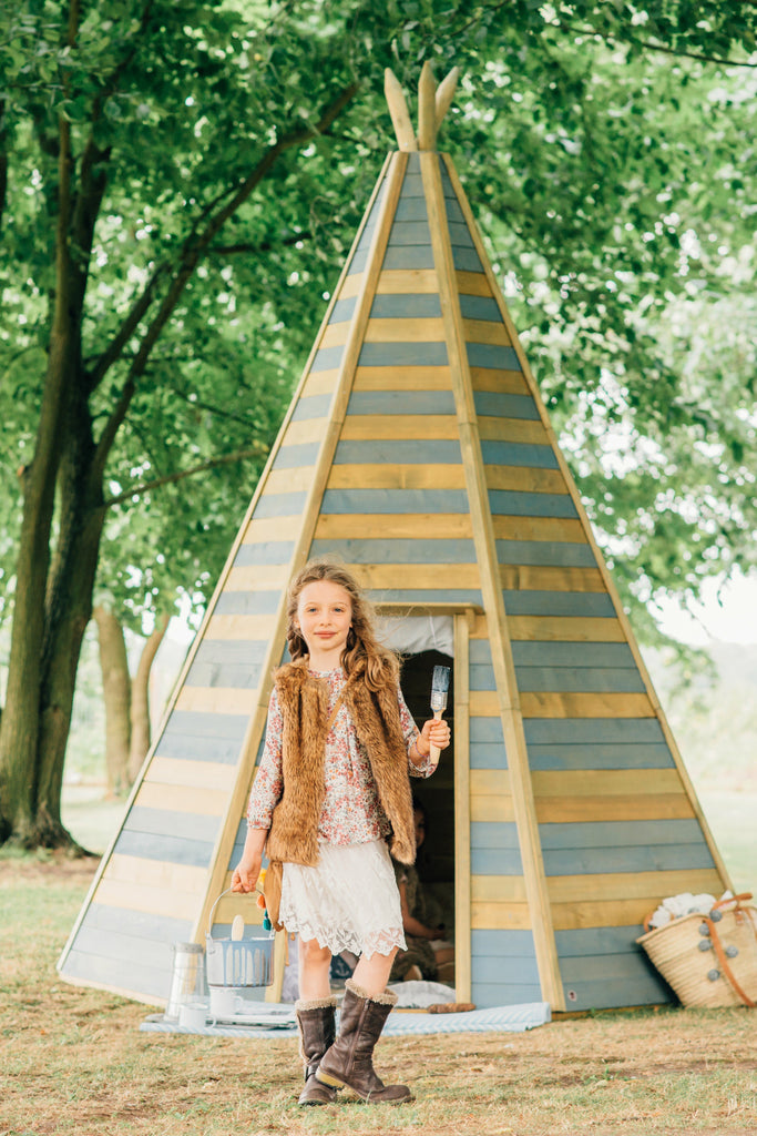 Plum® Grand Wooden Teepee Hideaway