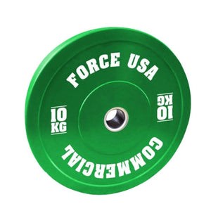 Force USA Pro Grade Coloured Bumper Plates 10kg