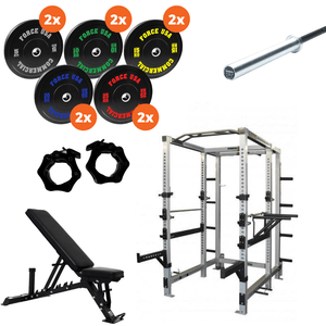 Force USA Commercial Power Rack Package 1