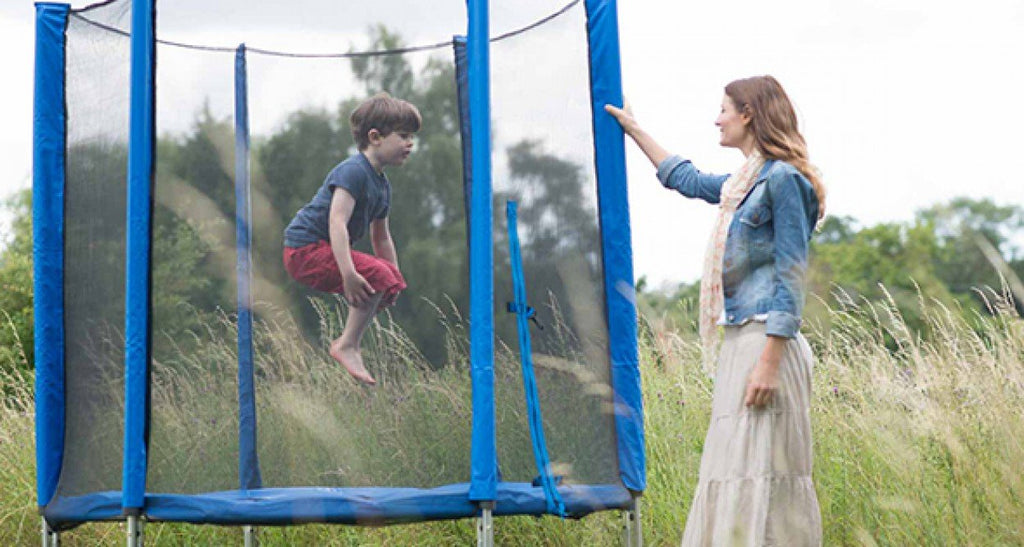 Plum 4.5ft Junior Trampoline Blue