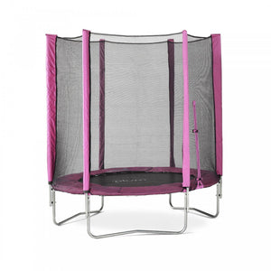 Plum 6ft Junior Trampoline Pink