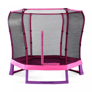 Plum 7ft Junior Trampoline Pink