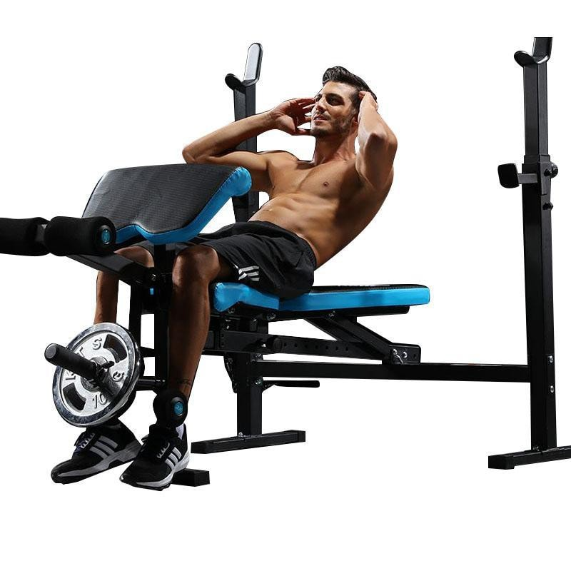 JX-DS610 Home Use Olympic Bench Press with Fully Adjustable Pad