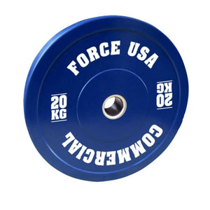 Force USA Pro Grade Coloured Bumper Plates 20kg