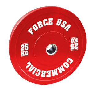 Force USA Pro Grade Coloured Bumper Plates 25kg
