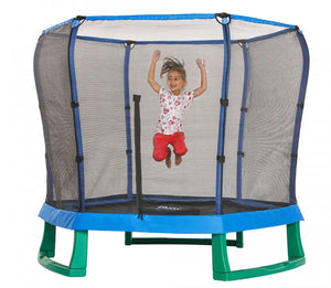 Plum 7ft Junior Trampoline Blue