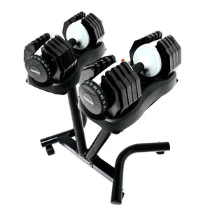 Force USA DialTech 25kg Adjustable Dumbbell Pair + Stand
