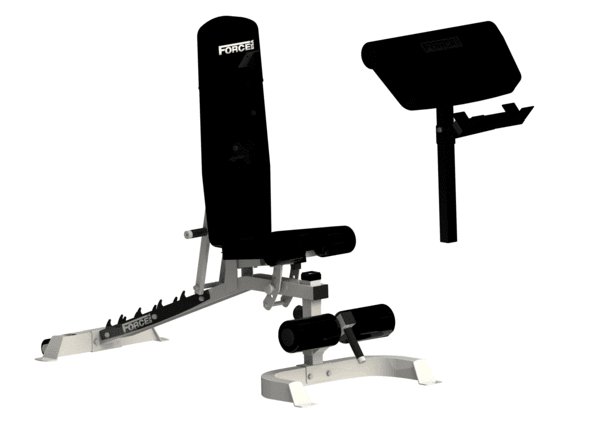 Force USA - Multi Flat / Incline / Decline Adjustable Bench (Black)