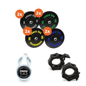 Force USA 170kg Bumper Plate Package 3