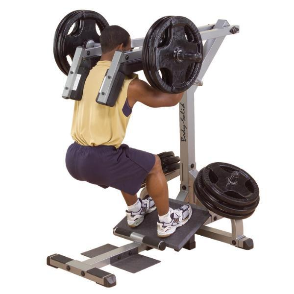 Body Solid Freeweight Leverage Squat Calf Machine