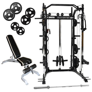 Force USA G1 All-In-One Trainer Garage Gym Multi Gym Package