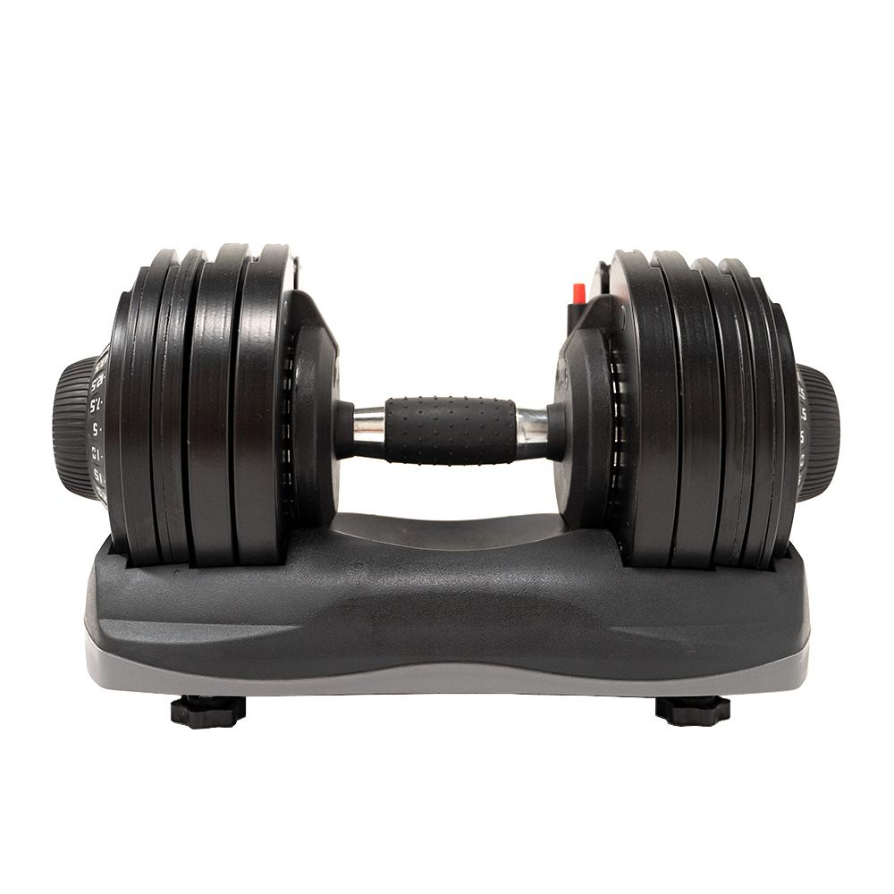 Force USA DialTech 32kg Adjustable Dumbbell Pair + Stand