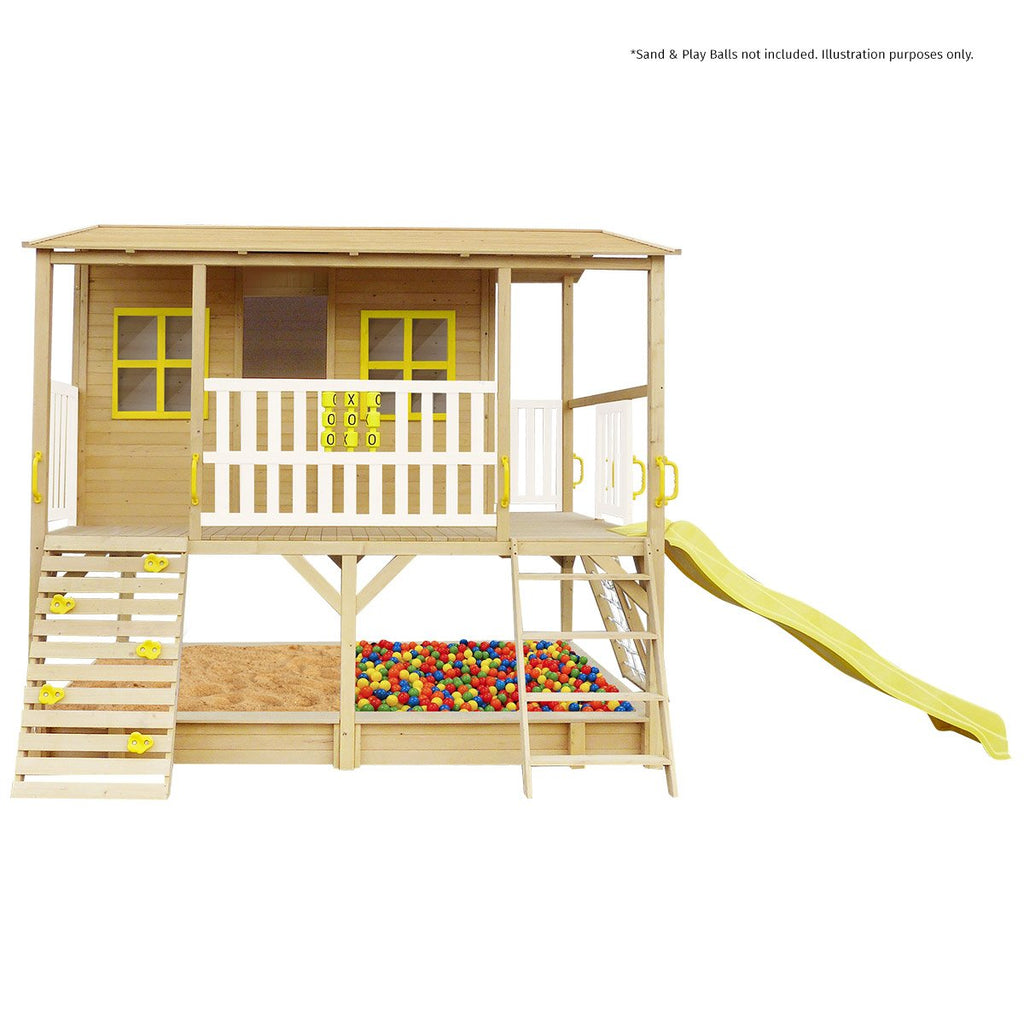 Winchester Cubby House (Yellow Slide)
