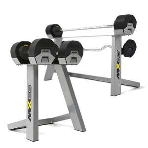 MX Select Adjustable Dumbbells and Adjustable Barbell & EZ Curl Package