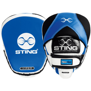 Sting Viper Speed Focus Mitts - Blue/White