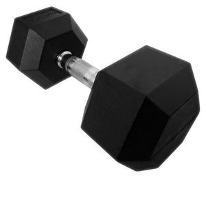 Force USA Rubber Hex Dumbbells 17.5kg