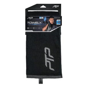 PTPFit Towel X (Black/Grey) w/ Magnet