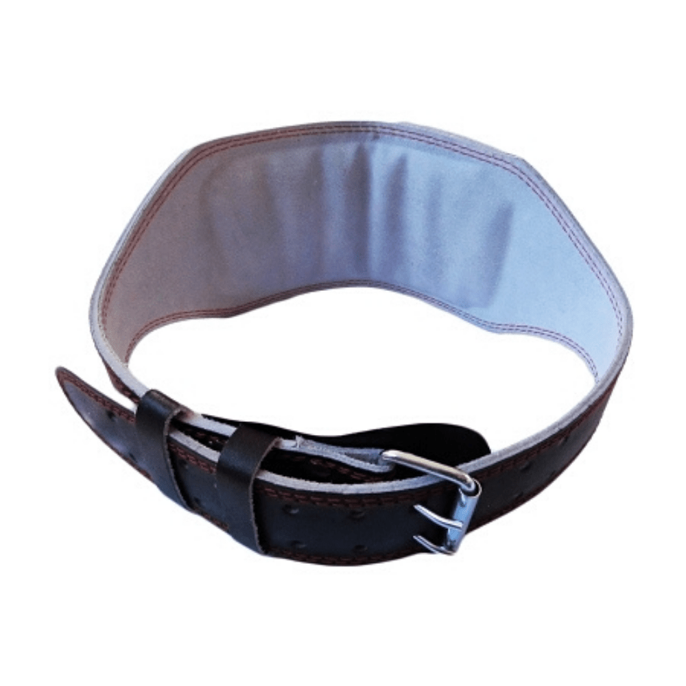 Morgan Platinum 15cm Wide Leather Weight Lifting Belt