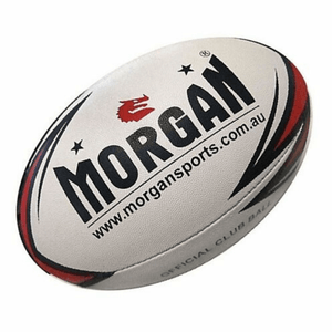 Morgan Club Grade Rugby League Ball