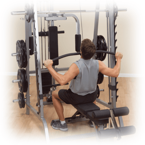 Body Solid 210lb Lat Att to suit 7 Series Smith Machine