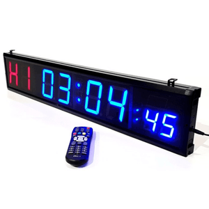 8 Digit Commercial Grade Interval Timer