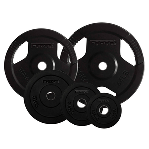 Force USA Rubber Coated 29mm Standard Weight Plates (Sold individually)