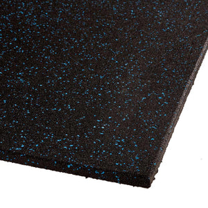 VersaFit Flooring Commercial Rubber Flooring Tile - Blue Fleck