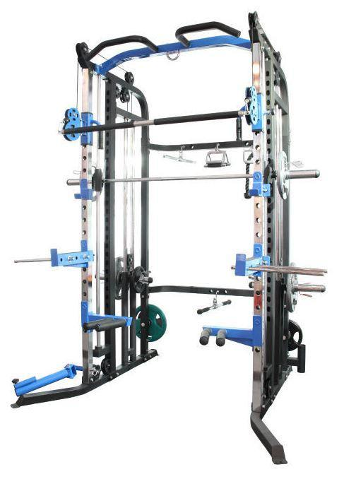 Brawn Strength Beast V3 Functional Trainer, Power Rack, Smith Machine Combo