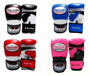 Morgan V2 Professional Curved Leather Bag Mitts (All Sizes & Colours)