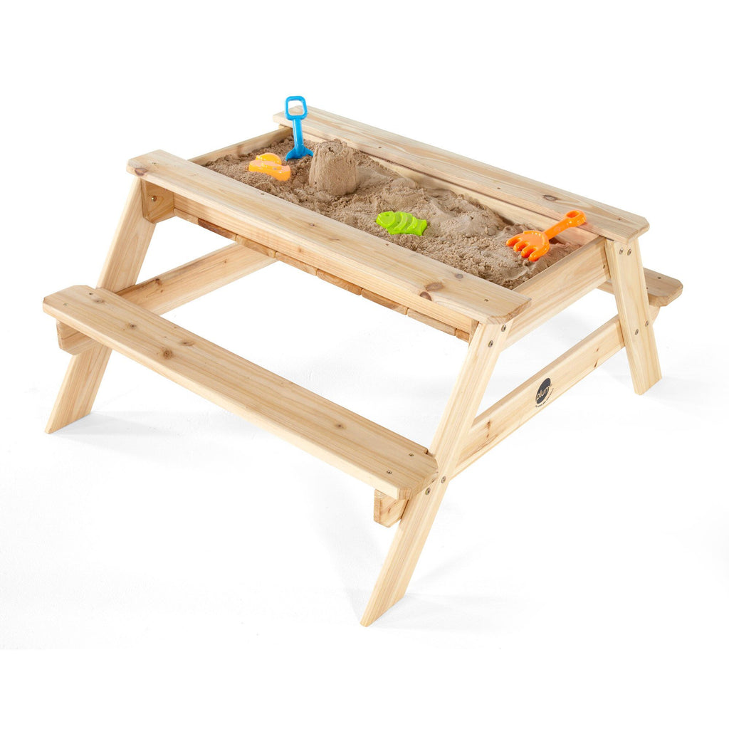 Plum® Wooden Sand and Picnic Table