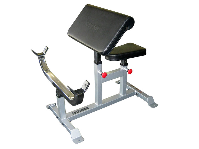 Force USA Seated Preacher Curl Bench