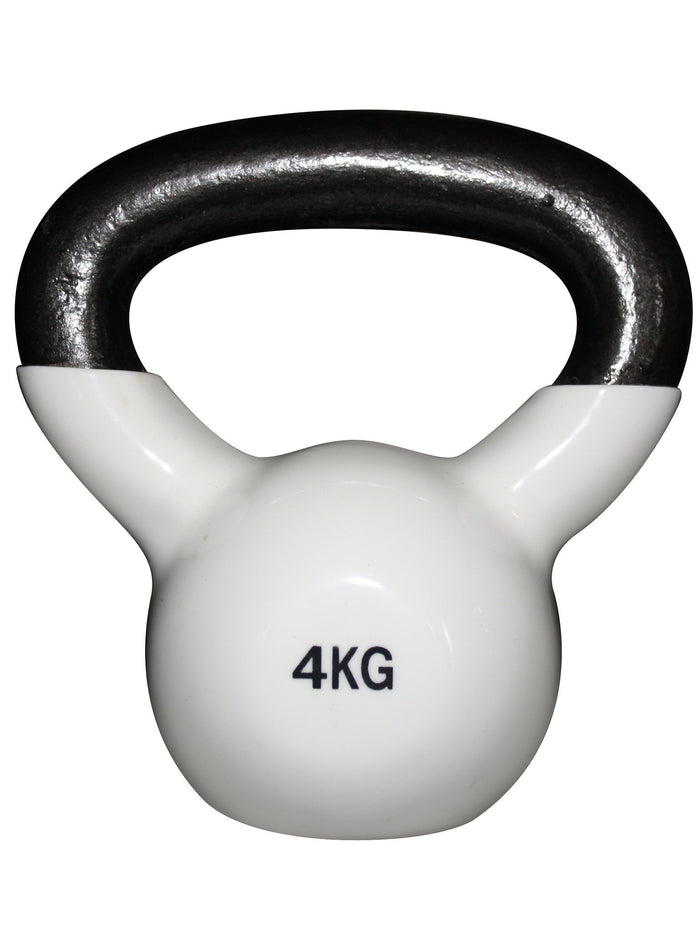 Force USA Vinyl Kettlebell 4kg White