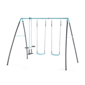 Plum® Premium Metal Double Swing & Glider with Mist
