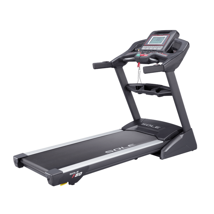 Sole F80 Treadmill 2017 Console