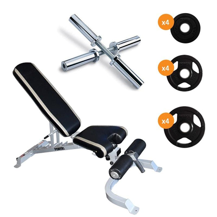 Force USA FID Bench & Dumbbell Package
